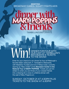Dine with Mary Poppins & Friends